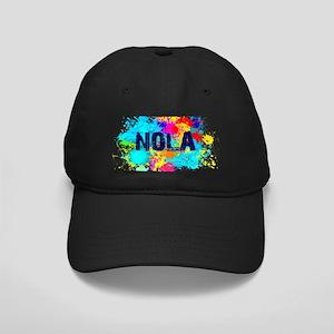 NOLA Splat Black Cap