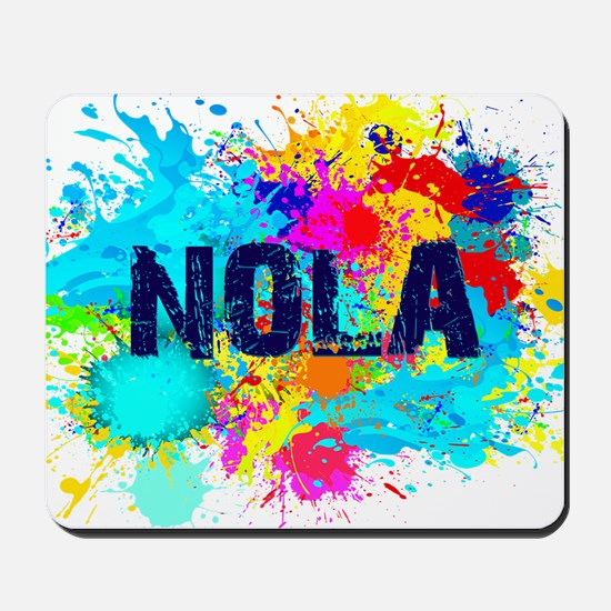 NOLA Splat Mousepad