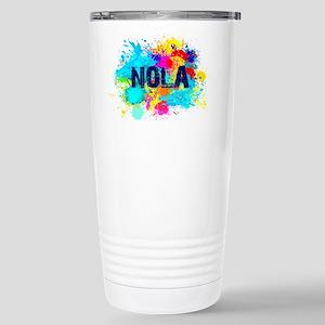 NOLA Splat Stainless Steel Travel Mug
