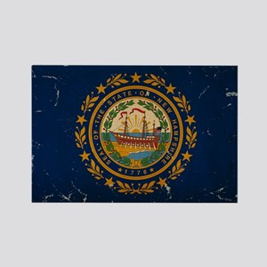 New Hampshire State Flag VINTAGE Magnets