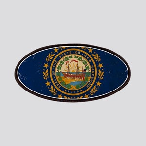 New Hampshire State Flag VINTAGE Patches