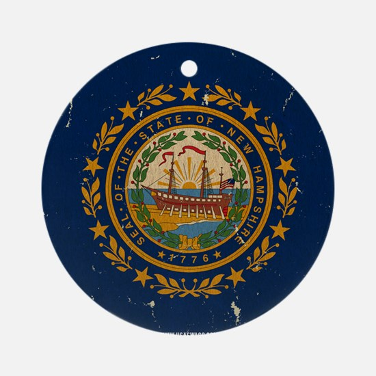 NH Vintage Ornament (Round)