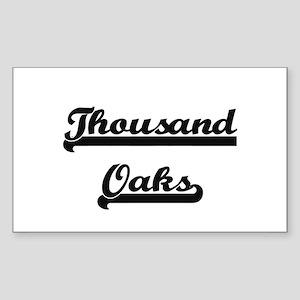 Thousand Oaks California Classic Retro Des Sticker