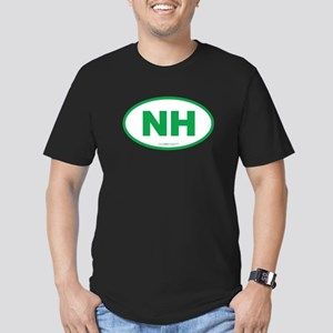 New Hampshire NH Euro Men's Fitted T-Shirt (dark)