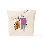 String Bass Tote Bag