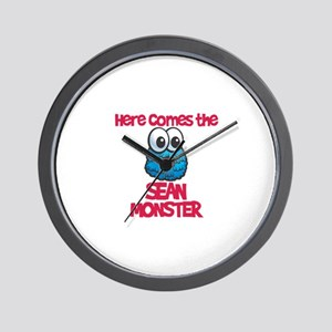 Sean Monster Wall Clock
