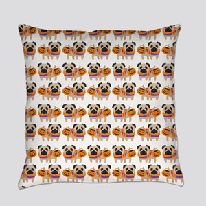 Trick or Treat Pug Everyday Pillow