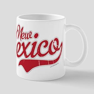 New Mexico Script Font Crimson Mugs