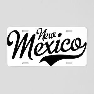 New Mexico Script Aluminum License Plate