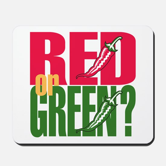 Red or Green? Mousepad
