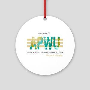 APWU Ornament (Round)