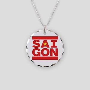 SAIGON Necklace Circle Charm