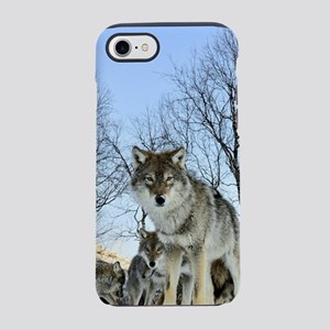 Pack Of Wolves During Winter iPhone 8/7 Tough Case