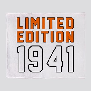 Limited Edition 1941 Throw Blanket