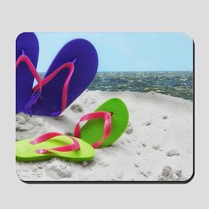 beach sandals Mousepad