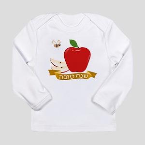 Shanah Tovah Rosh Jewish New Y Long Sleeve T-Shirt