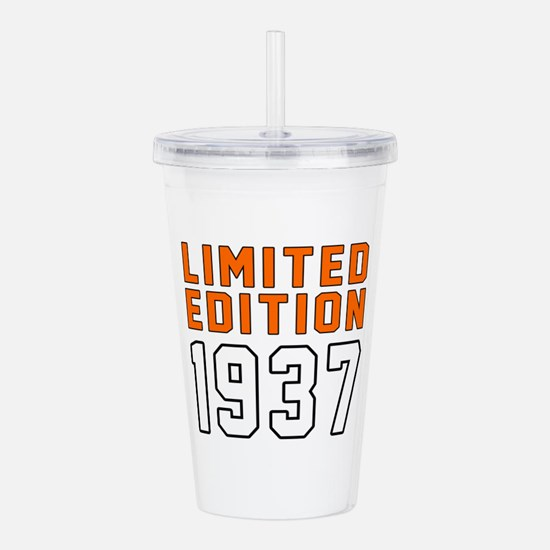 Limited Edition 1937 Acrylic Double-wall Tumbler