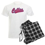 Cubbies Baseball Script Men's Light Pajamas