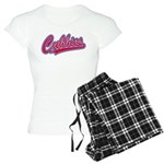 Cubbies Pink Camo Baseball Women's Light Pajamas