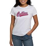 Cubbies Pink Camo Baseball Women's Classic T-Shirt