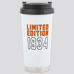 Limited Edition 1934 Stainless Steel Travel Mug