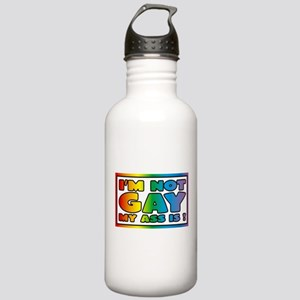 I'm not gay my ass is Stainless Water Bottle 1.0L
