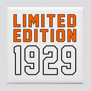 Limited Edition 1929 Tile Coaster