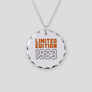 Limited Edition 1923 Necklace Circle Charm