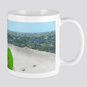 beach sandals Mugs