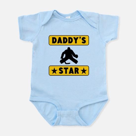 Daddys Hockey Star Body Suit