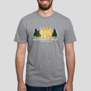 Shady Pines Mens Tri-blend T-Shirt
