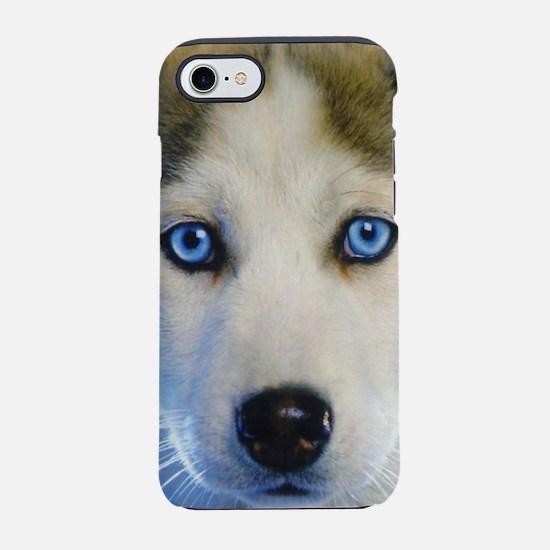 Husky Puppy iPhone 8/7 Tough Case