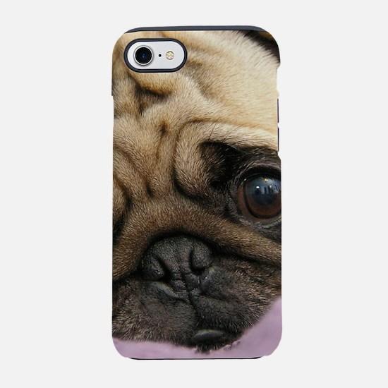 Cute Pug iPhone 8/7 Tough Case