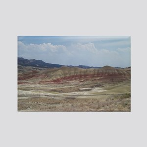 Painted Hills of Oregon Rectangle Magnet