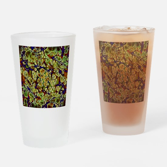 Neurons Drinking Glass