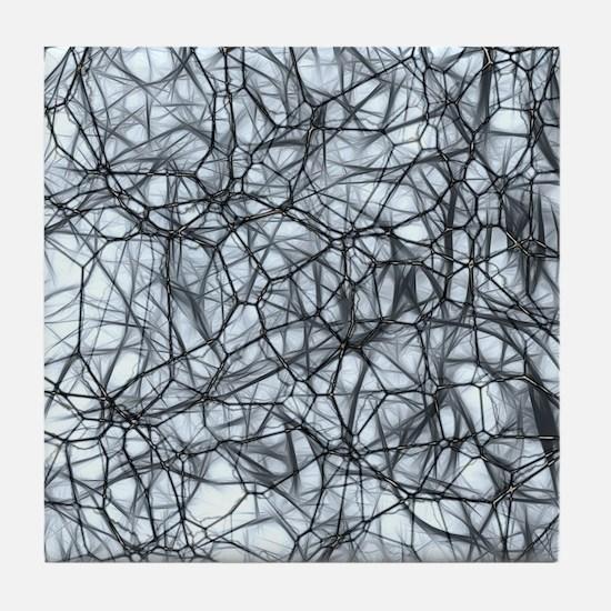 Neurons Tile Coaster