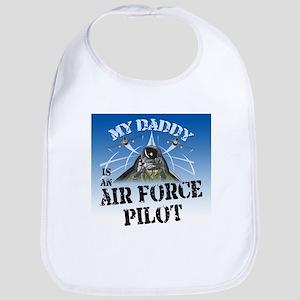 My Daddy Air Force Pilot Bib