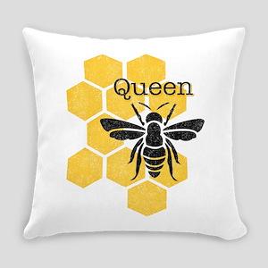 Honeycomb Queen Bee Everyday Pillow