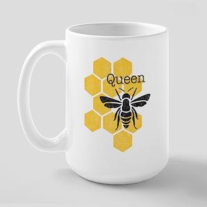 Honeycomb Queen Bee Large Mug