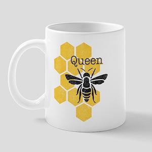 Honeycomb Queen Bee Mug
