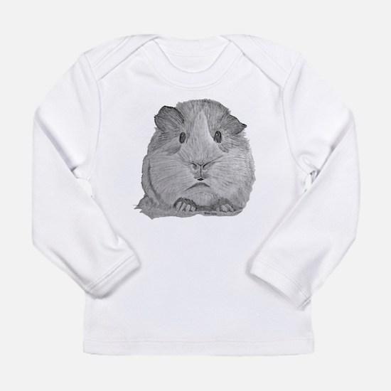 Guinea Pig by Karla Hetzler Long Sleeve T-Shirt
