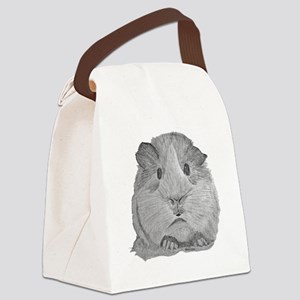Guinea Pig by Karla Hetzler Canvas Lunch Bag