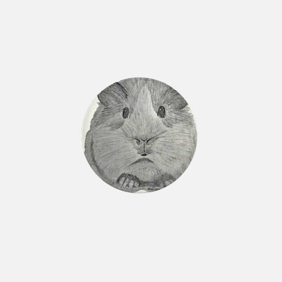 Guinea Pig by Karla Hetzler Mini Button