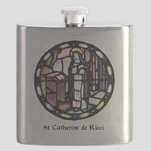 St Catherine de Ricci Flask