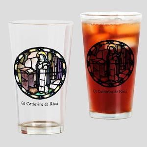 St Catherine de Ricci Drinking Glass