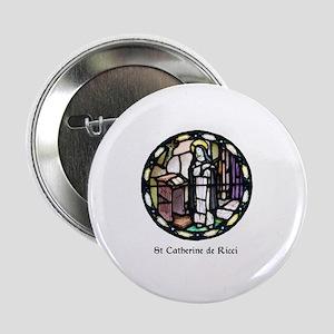 "St Catherine de Ricci 2.25"" Button"