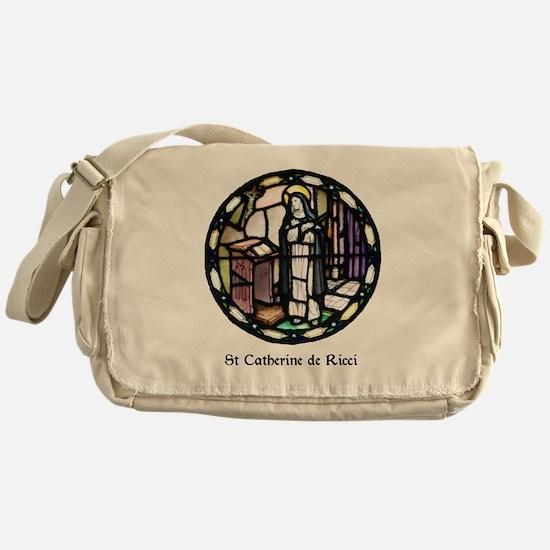 St Catherine de Ricci Messenger Bag