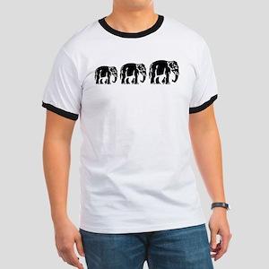Chang Chang Chang ~ Asian Elephants Crossing T-Shi