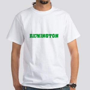 Remington Name Weathered Green Design T-Shirt