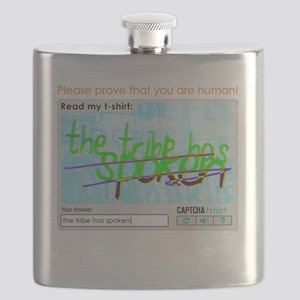 Captcha the tribe has spoken Flask